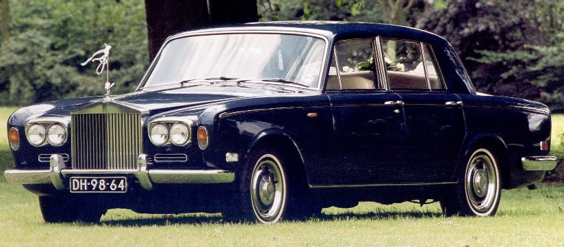 Rolls Royce Silver Shadow I 1971.